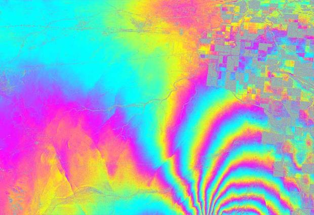 How Quakes Deform the Earth's Crust
