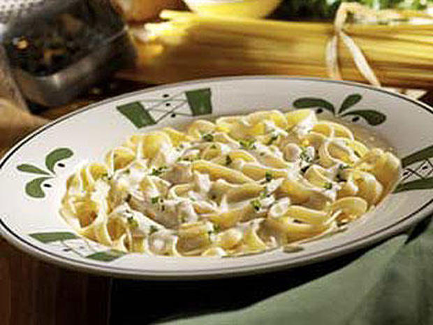 olive garden kids meal shockers look out pictures cbs news - Olive Garden Calories