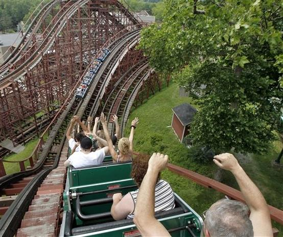 Roller Coasters Across the USA
