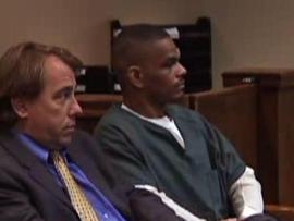 Jessie Dotson in court with his defense attorney Gerald Skahan.