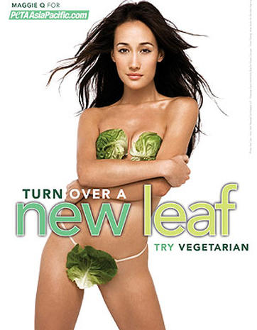 Sexy Vegetarians Get Naked