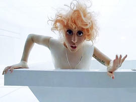 Lady Gaga's huge eyes in her video Bad Romance have sparked a dangerous contact lens trend among teens.