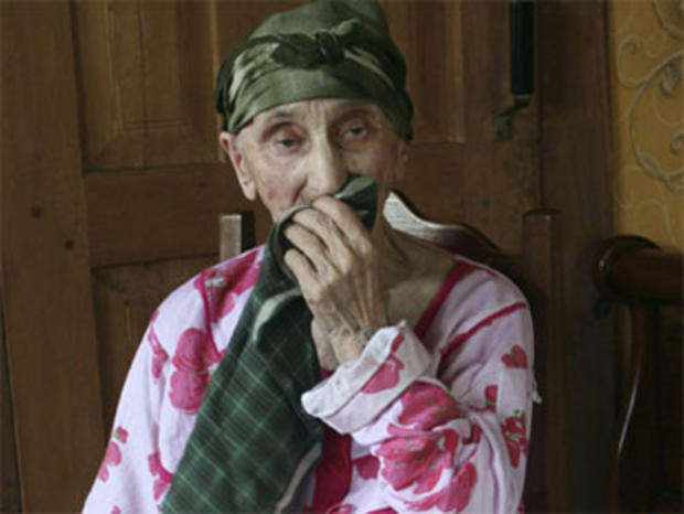Antisa Khvichava, reportedly 130-year-old Georgian woman