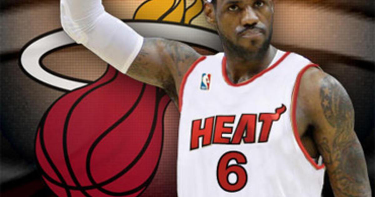 Lebron James Picks Miami Heat For New Team Cbs News