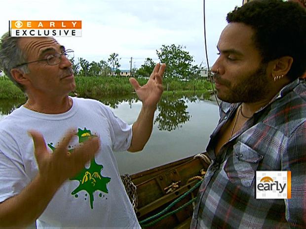 Lenny Kravitz in the Gulf