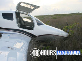 Plane allegedly crash-landed by Colton Harris-Moore in the Bahamas (CBS)