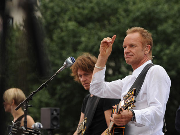 "Sting on ""The Early Show"""