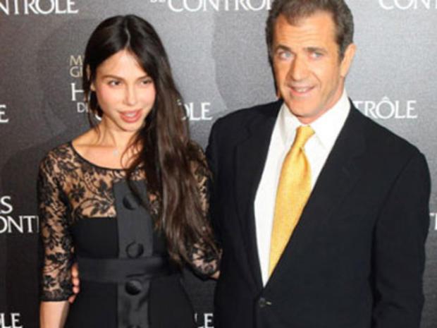 Mel Gibson and Oksana Grigorieva Together for First Court Proceeding