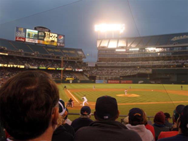 Oakland Coliseum seating
