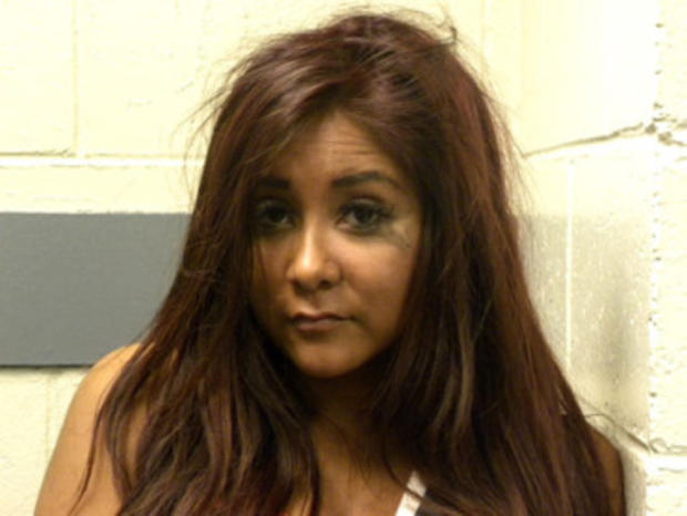 """Snooki of """"Jersey Shore"""" Refused Arrest, Says Police Report"""