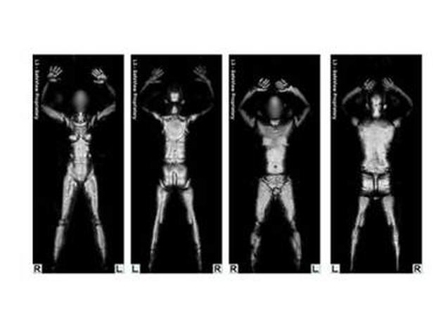 TSA's millimeter wave body scan