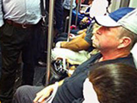 Boston Transit Police Arrest Lewd Passenger Lawrence Maguire Thanks to Twitter