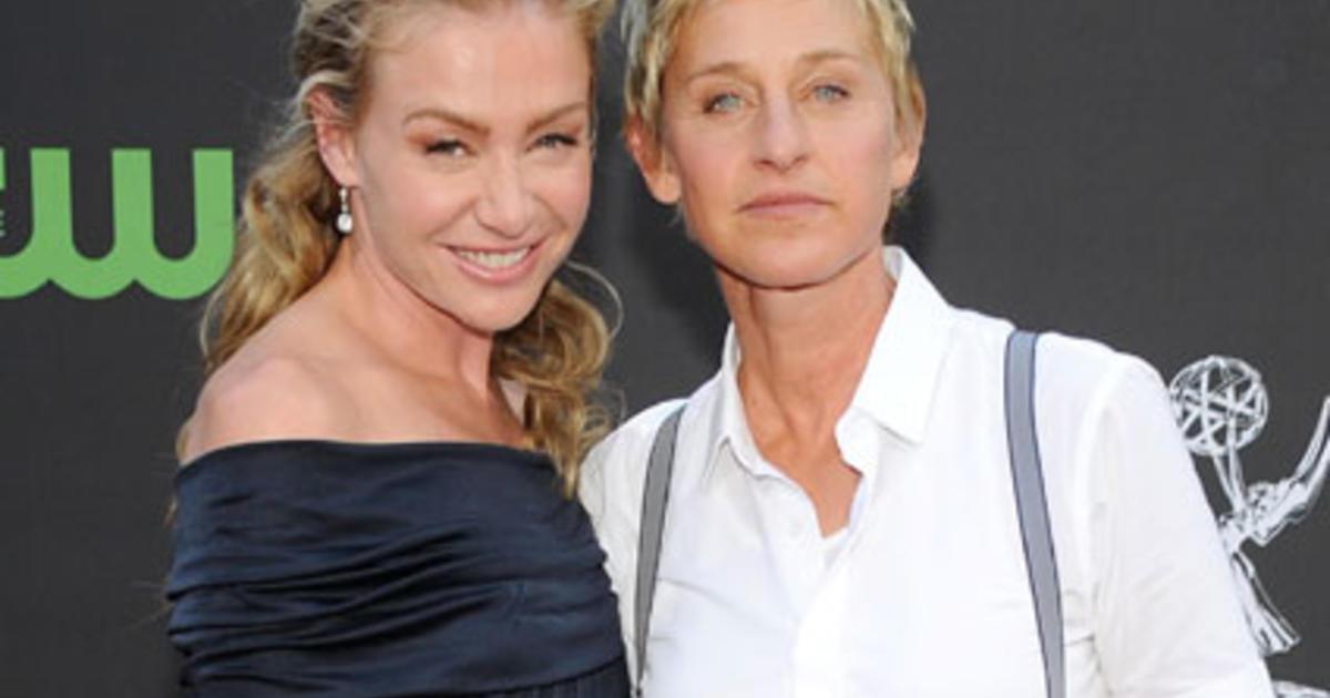 Portia De Rossi Takes Wife Ellen Degeneres Name Cbs News