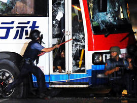 Manila, Philippines Bus Standoff Ends with Hijacker Rolando Mendoza, 7 Hostages Dead