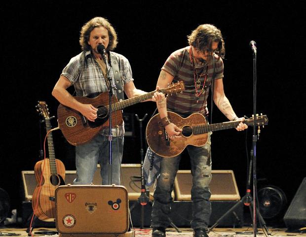 Johnny Depp, Eddie Vedder Support West Memphis 3 with Benefit Concert