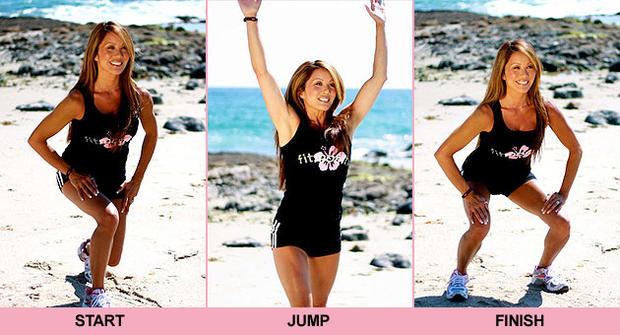 Kiana Tom, beach body workout