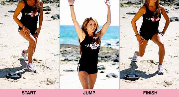 Kia Tom, fitness mom, workout