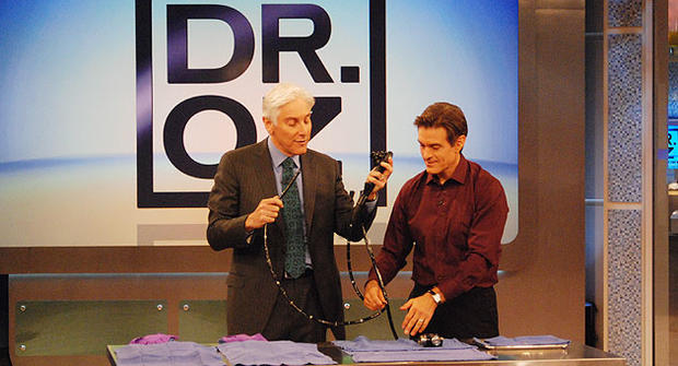 Dr. Mehmet Oz and Dr. Jonathan LaPook talk about colon cancer.