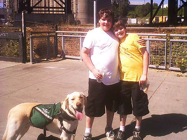 Dog Saves Autistic Boy: Milo and Chad