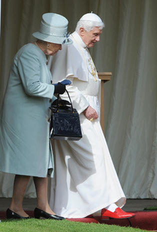The Pope and The Queen