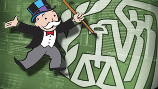 Mr. Monopoly and the IRS