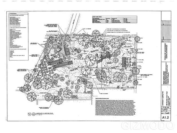 Plans for Steve Jobs' New House