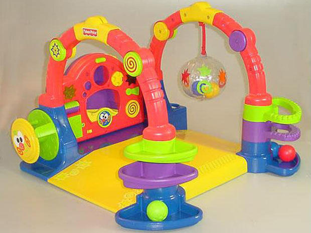 Recalled Baby Gymtastics Play Wall Fisher Price Toy