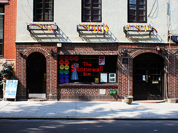 The Stonewall Inn, Christopher Street in Greenwich Village, Manhattan