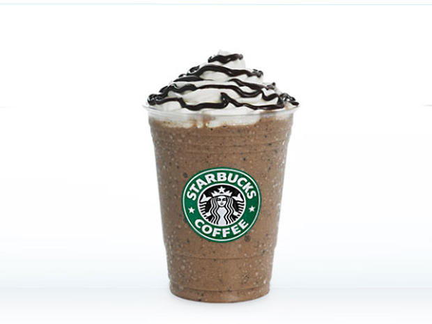 Starbucks Double Chocolate Chip Frappuccino Calories