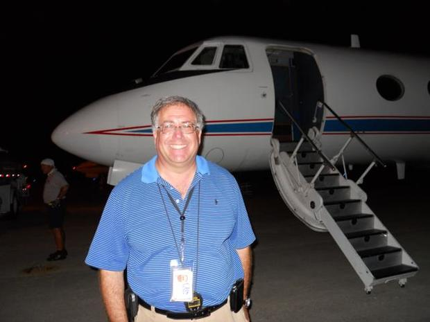 On Board the Gulfstream ll