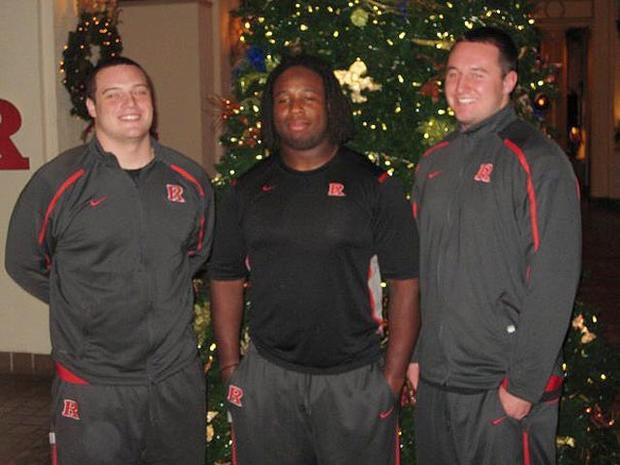 Rutgers Player Eric LeGrand Paralyzed