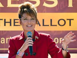 Sarah Palin, Tea Party Express