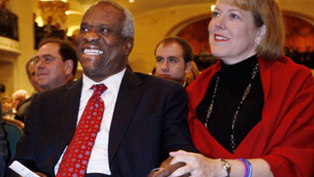 Clarence Thomas' Wife Called Anita Hill - CBS News