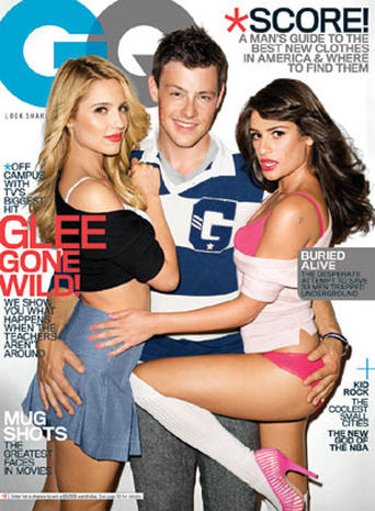 """Glee"" Goes Wild for GQ"