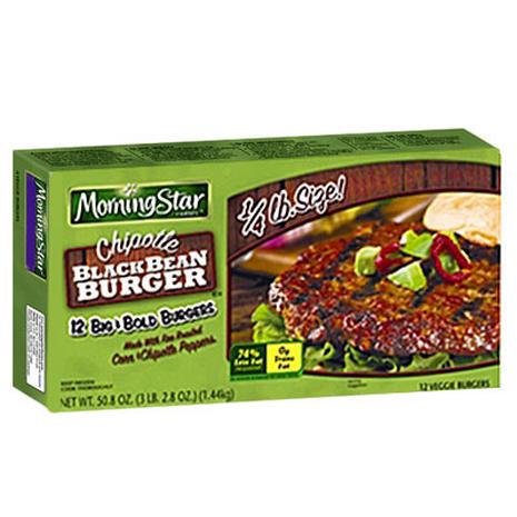 MorningStar Farms Chipotle Black Bean