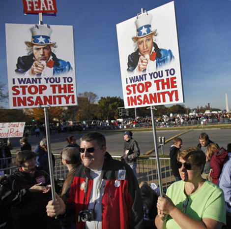 "Rally for ""Sanity and/or Fear"""