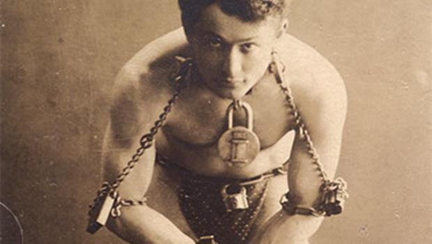 Escape artist Harry Houdini
