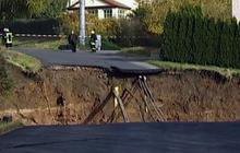 Crater Appears Overnight in German Village