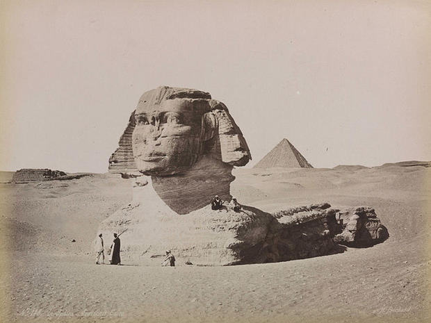Giza's Sphinx Gives Up a (Small) Secret