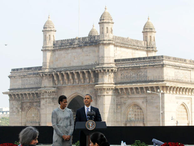 Obamas in India