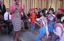 Feed: Michelle Obama Ready for Bollywood