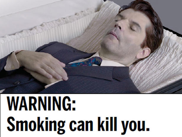 27 cigarette warning labels nixed by the FDA