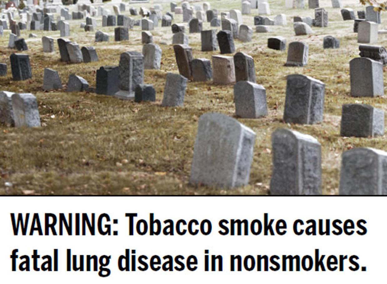 tobacco warning labels