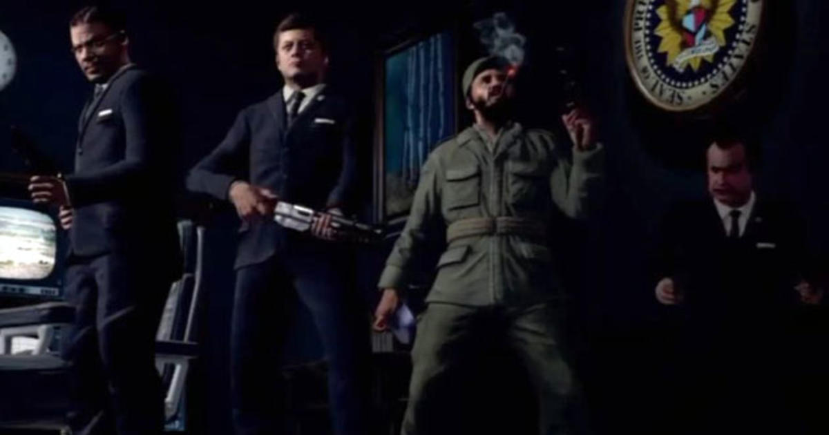 Call Of Duty Black Ops Secret Stage Jfk Nixon And Castro Battle