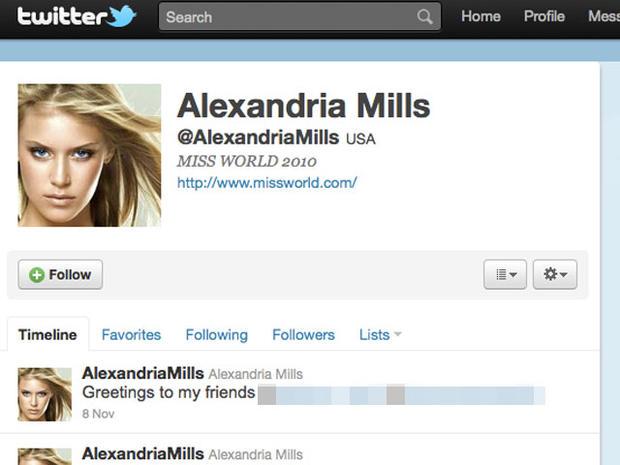 Alexandria Mills Nude Photo Scandal