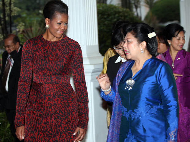 Michelle Obama's Asian Style