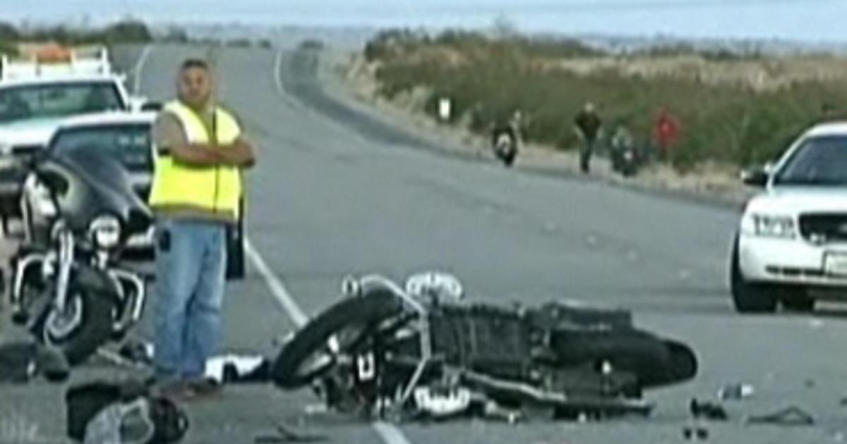 5 Die In Calif Motorcycle Crash Driver Held Cbs News