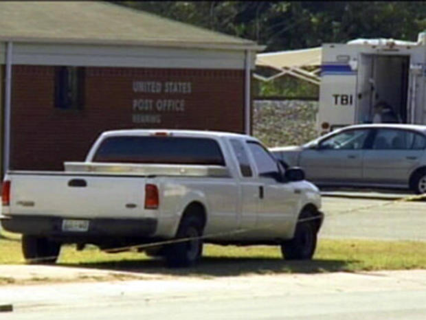 Post Office Slayings Leave Tenn. Town Uneasy
