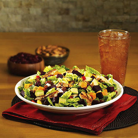 America's Healthiest Mall Food