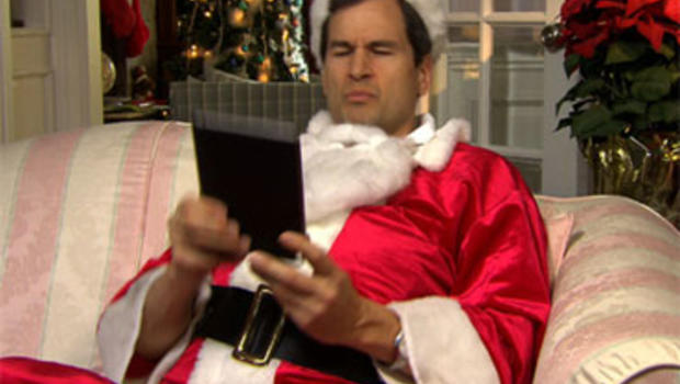 "David Pogue offers some gift-giving advice for the techno-geeks on your holiday list, courtesy of ""Techno Claus."""
